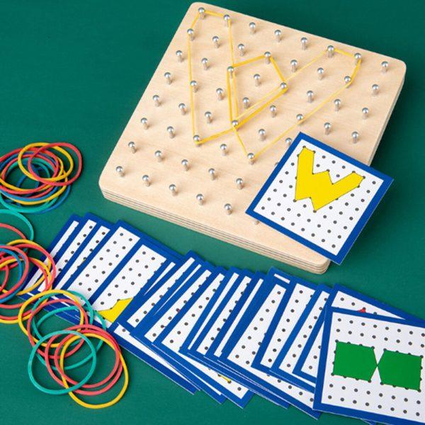 משחק גומיות צורות 6