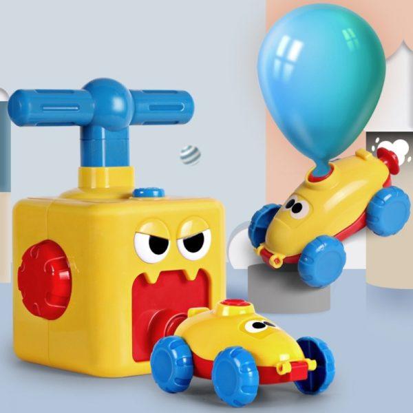מכוניות בלון ומשאבה 2